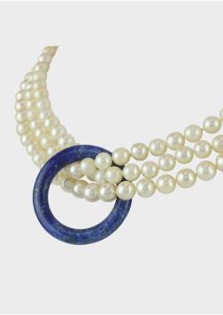 Perlenkette 3 Strangig