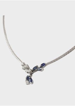 Saphir Brillant Collier