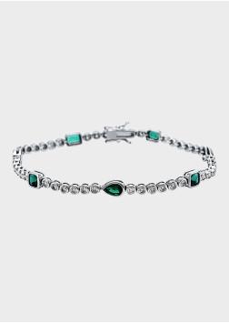 Box Selection Smaragd Brillant Bracelet